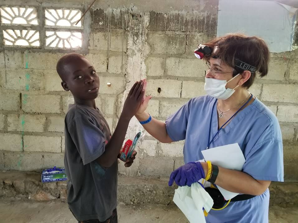 Dr. Edalatpour in Haiti