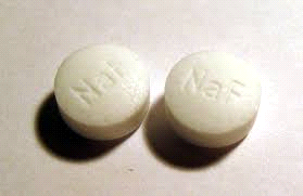 flouride tablets to strengthen teeth