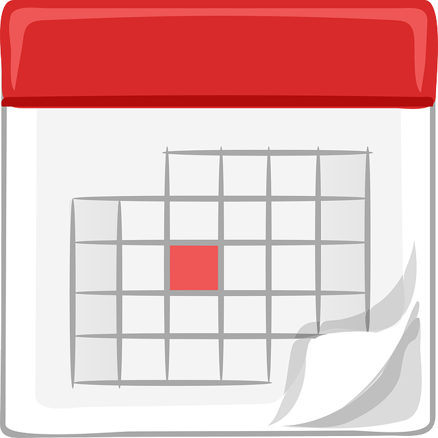 calendar to make an appointment